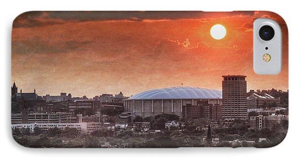 Syracuse Sunrise Over The Dome IPhone Case