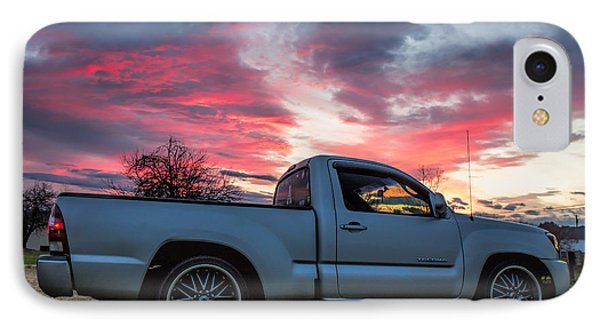Toyota Tacoma Trd Truck Sunset IPhone Case