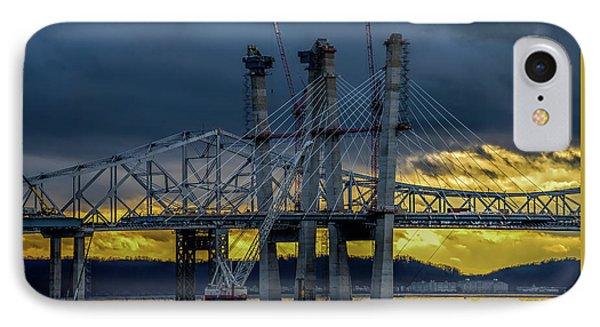 Tale Of 2 Bridges At Sunset IPhone Case