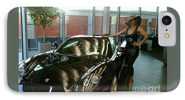 Talisa Hartleys Sports Cars And Big Muscles IPhone Case