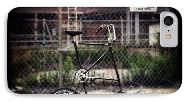 Tall Bike IPhone Case