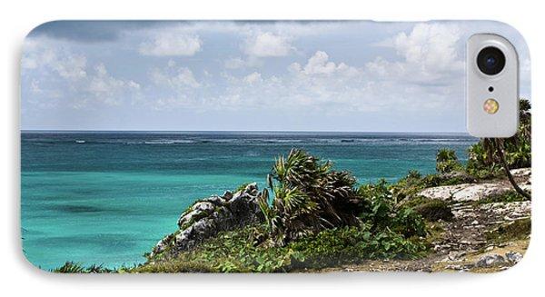 Talum Ruins Mexico Ocean View IPhone Case