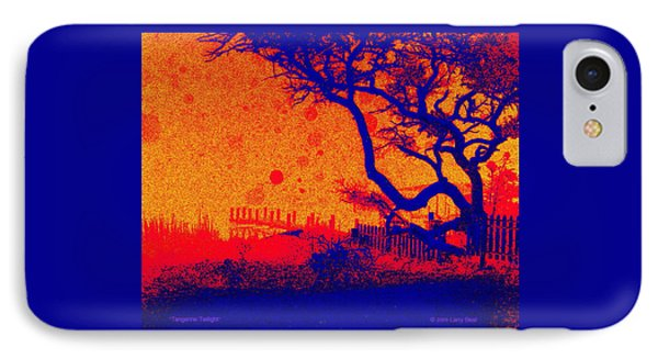 Tangerine Twilight IPhone Case