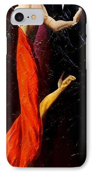 Tango Dancers #1 IPhone Case