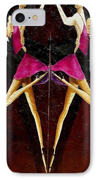 Tango Dancers #2 IPhone Case
