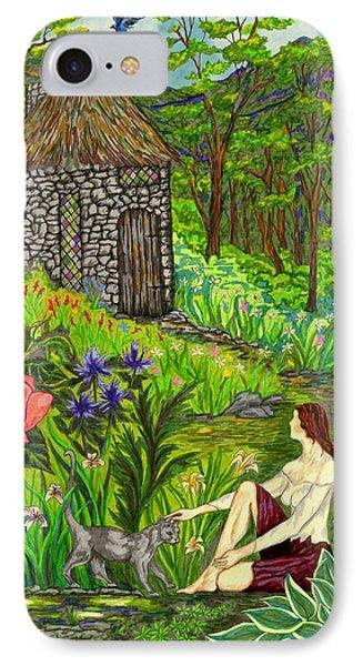 Tansel's Garden IPhone Case