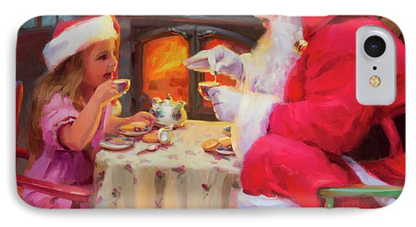 Elf iPhone 8 Case - Tea For Two by Steve Henderson