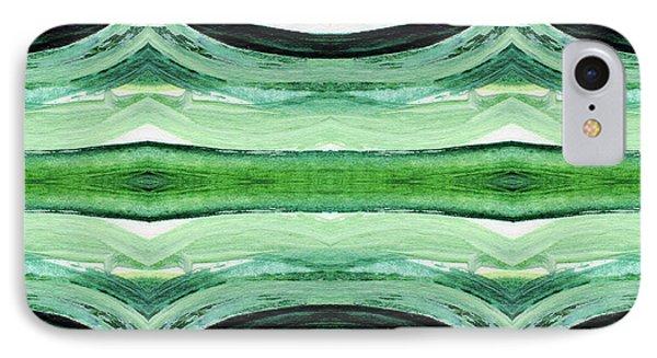 Tea Garden 2- Art By Linda Woods IPhone Case
