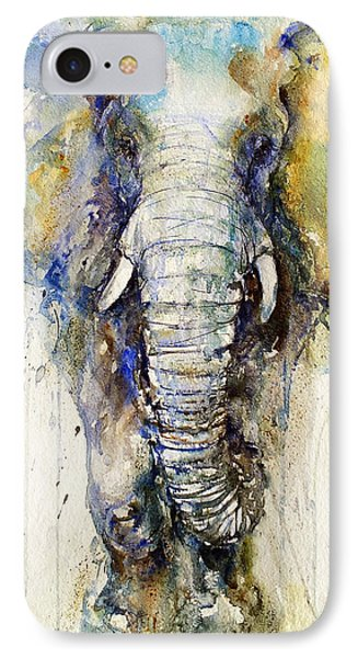 Teal Tusker IPhone Case