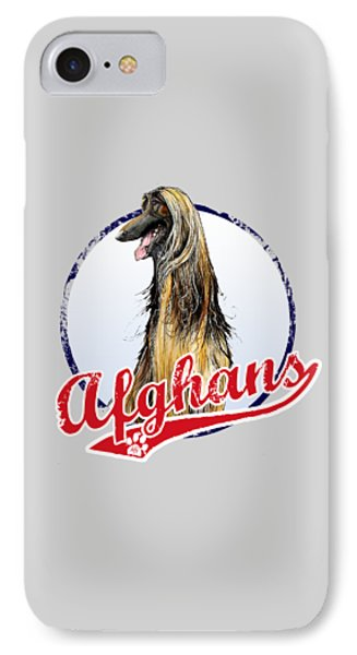 Team Afghan Hound IPhone Case