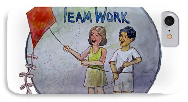 Teamwork IPhone Case