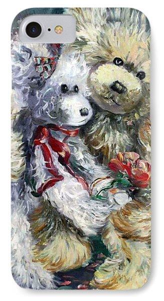 Teddy Bear Honeymooon IPhone Case