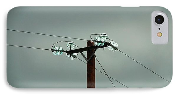 Telegraph Lines IPhone Case