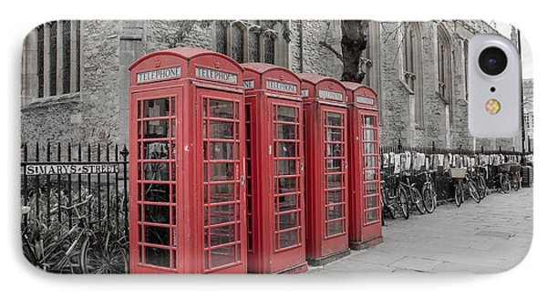 Telephone Boxes IPhone Case