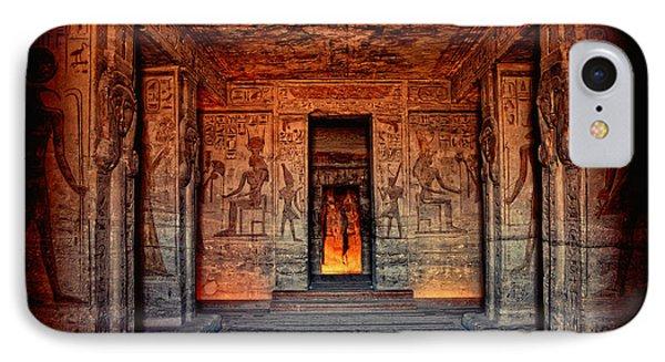Temple Of Hathor And Nefertari Abu Simbel IPhone Case