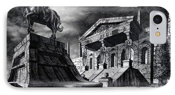 Temple Of Perseus IPhone Case