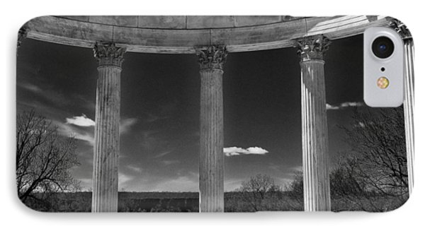 Temple Of The Sky Monochrome IPhone Case