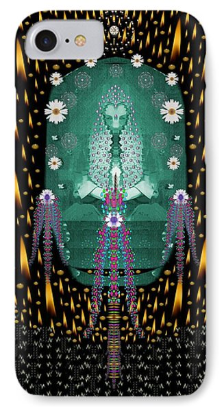 Temple Of Yoga In Light Peace And Human Namaste Style IPhone Case