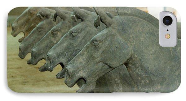 Terra Cotta Horses IPhone Case