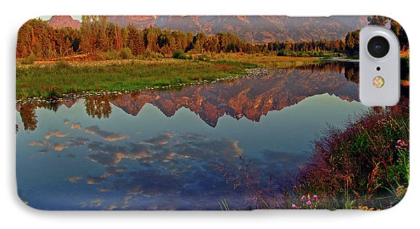Mountain iPhone 8 Case - Teton Wildflowers by Scott Mahon