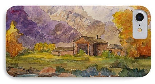 Tetons Ranch IPhone Case