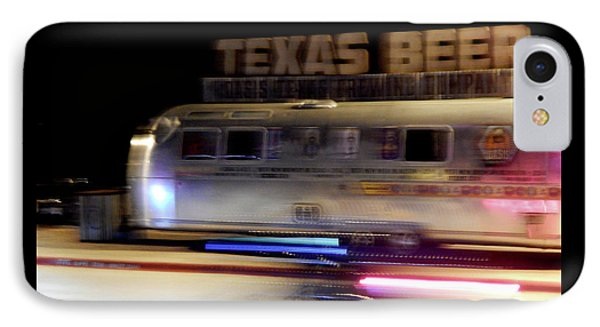 Texas Beer Fast Motorcycle #5594 IPhone Case
