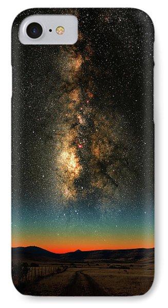 Texas Milky Way IPhone Case