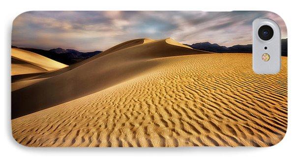 Textured Dunes  IPhone Case