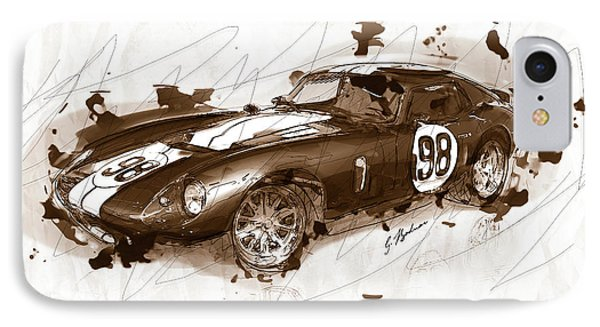 The 1965 Ford Cobra Mustang IPhone Case