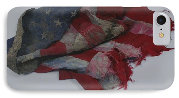 The 9 11 W T C Fallen Heros American Flag IPhone Case