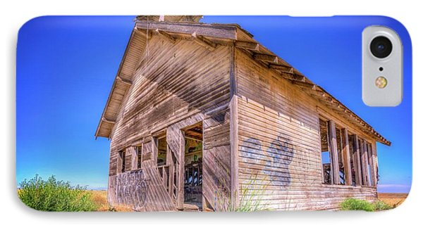 The Abandoned School House IPhone Case