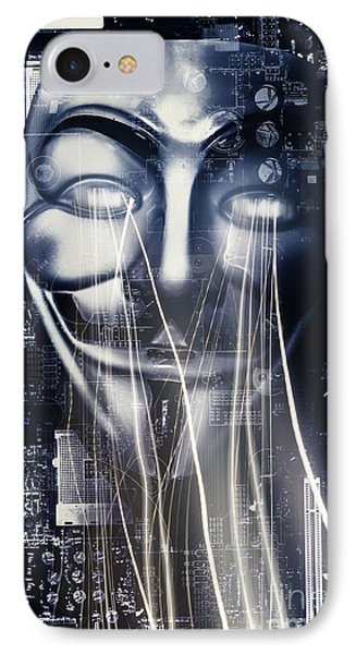 The Anonymous Eyes Of Civil Unrest IPhone Case