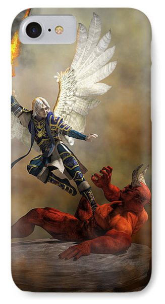 The Archangel Michael IPhone Case