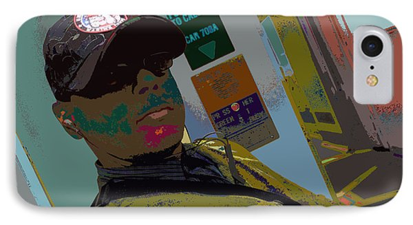 the artist - MARINE CORPORAL kenneth james IPhone Case