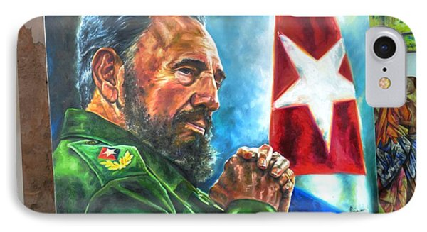 The Arts In Cuba Fidel Castro 2 IPhone Case