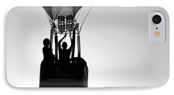 IPhone Case featuring the photograph The Balloon Pilot by AJ Schibig