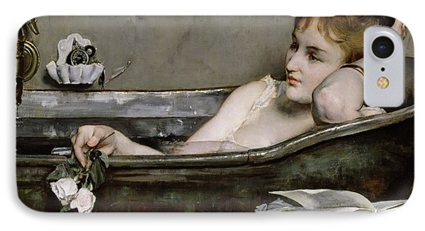 Impressionism iPhone 8 Case - The Bath by Alfred George Stevens