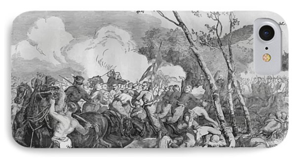 Bull iPhone 8 Case - The Battle Of Bull Run by War Is Hell Store