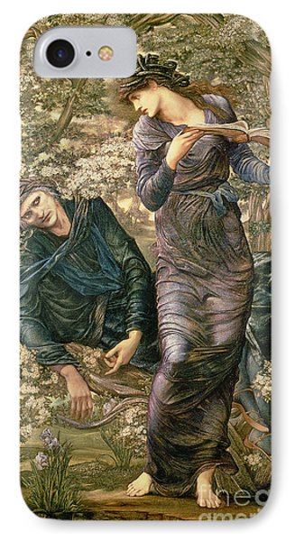 Wizard iPhone 8 Case - The Beguiling Of Merlin by Sir Edward Burne-Jones