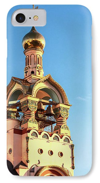 The Bell Tower Of The Temple Of Grand Duke Vladimir IPhone Case