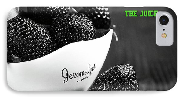 The Blacker The Berry IPhone Case