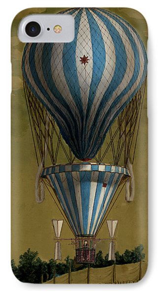 The Blue Balloon IPhone Case