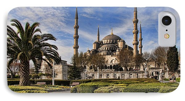 The Blue Mosque In Istanbul Turkey IPhone Case