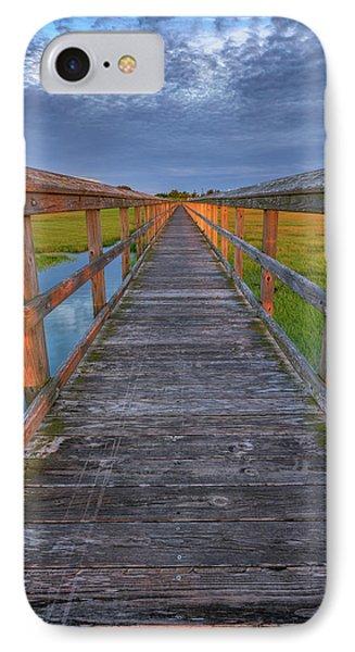 The Boardwalk In The Marsh IPhone Case