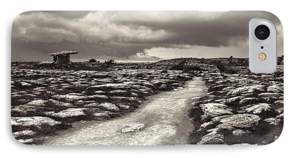 The Burren Ireland With Poulnabrone Dolmen IPhone Case