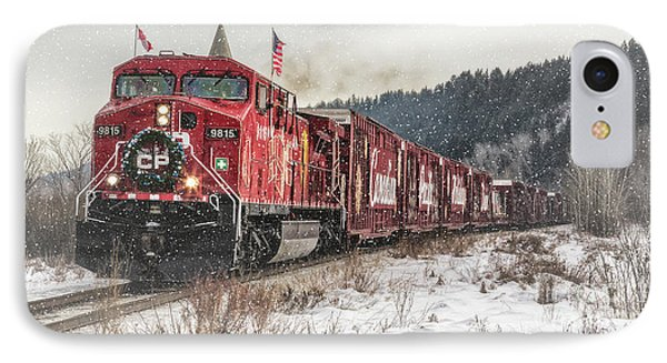 The Canadian Pacific Holiday Train IPhone Case