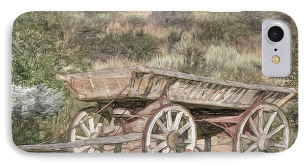 The Cart Before The Horse IPhone Case