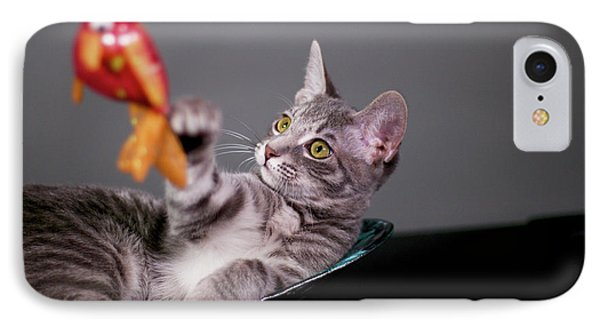 The Cat And The Fish IPhone Case