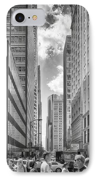IPhone Case featuring the photograph The Chicago Loop by Howard Salmon