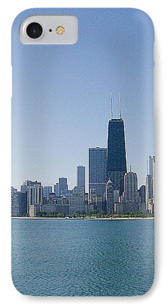 The City Of Chicago Across The Lake IPhone Case